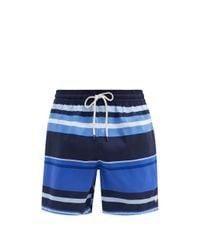 メンズ Polo Ralph Lauren トラベラー ボーダー スイムショーツ Blue