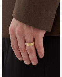 メンズ Maison Margiela シルバー&ゴールド ナンバーリング Multicolor