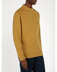 Saturdays NYC - Brown Elijah Long-sleeved Cotton-jersey T-shirt for Men - Lyst