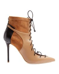 Malone Souliers Brown Montana Lace-up Leather Ankle Boots