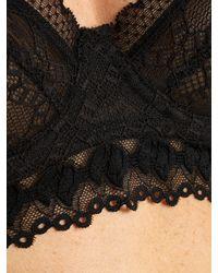 Stella McCartney Black Jasmine Inspiring Underwired Lace Bra
