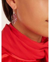 Irene Neuwirth - Multicolor Diamond, Tourmaline & Rose-gold Earrings - Lyst