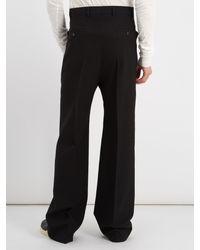 Pantalon en laine à fourche tombante Rick Owens pour homme en coloris Black
