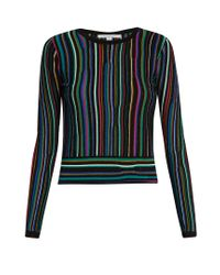 Diane von Furstenberg Black Arisha Sweater