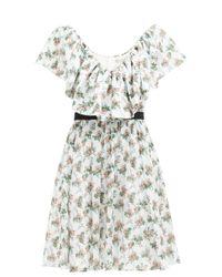 Emilia Wickstead ジュニパー フローラル コットンボイルドレス Multicolor