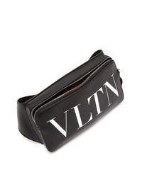 Sac bandoulière Vltn Valentino pour homme en coloris Black