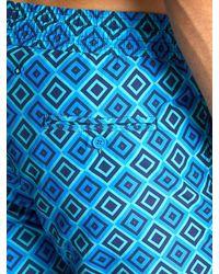 Frescobol Carioca Blue Sports Angra Print Swim Shorts for men