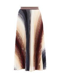 Missoni プリーツ アブストラクトジャカード ニットスカート Multicolor