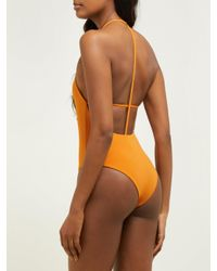 Maillot de bain Superstar DOS GARDENIAS en coloris Orange