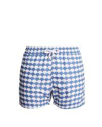 Frescobol Carioca - Blue Short de bain à imprimé Noronha Sports for Men - Lyst