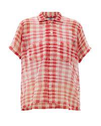 Bode スポットライト ギンガム コットンシャツ Multicolor
