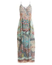 Camilla Green Sisters Of Marigold Silk Wrap Dress