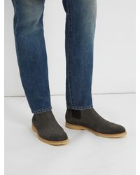 Common Projects | Multicolor Suede Chelsea Boots for Men | Lyst