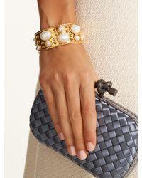 Sylvia Toledano   Multicolor Byzantine Small Gold-plated Cuff   Lyst