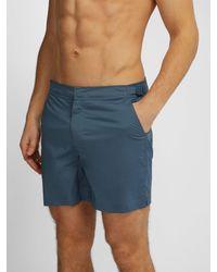 Orlebar Brown Blue Bulldog Swim Shorts for men