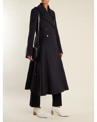 Gabriela Hearst | Blue Cantwell Double-breasted Cashmere Coat | Lyst