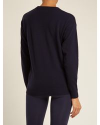 Fusalp - Blue Ski-intarsia Wool-blend Performance Sweater - Lyst