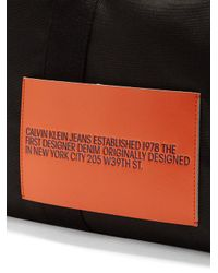 CALVIN KLEIN 205W39NYC - Black Nylon Holdall for Men - Lyst