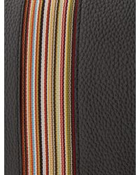Sacoche en cuir à motif Signature Stripe Paul Smith pour homme en coloris Black