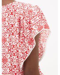 Melissa Odabash Keri タイル クレープミニドレス Multicolor