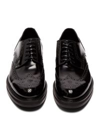 Dolce & Gabbana Black Patent Leather Brogues for men