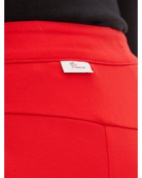 3 MONCLER GRENOBLE スリムレッグスキーパンツ Red