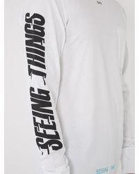Off-White c/o Virgil Abloh White Photocopy-print Cotton-jersey T-shirt for men