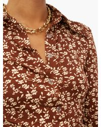 Dodo Bar Or Paya フローラルプリントシャツ Multicolor