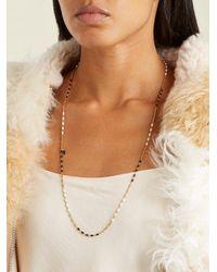 Isabel Marant - Black Casablanca Long Necklace - Lyst
