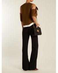 Chloé Black Mily Medium Leather Shoulder Bag