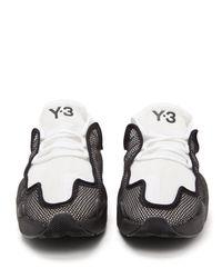 Baskets en résille Ren Y-3 pour homme en coloris White