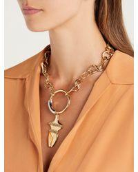 Chloé - Metallic Femininities Chain Necklace - Lyst