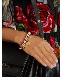 Dolce & Gabbana - Multicolor Amore-embellished Bracelet - Lyst