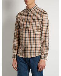 A.P.C. - Natural Men's Chemise Mick Shirt for Men - Lyst