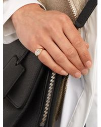 Anissa Kermiche - Multicolor Diamond, Mother-of-pearl & Yellow-gold Ring - Lyst
