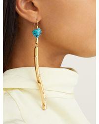 Marni Multicolor Stick Hook Earrings