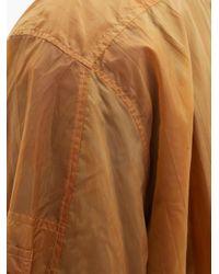 メンズ A_COLD_WALL* * オーバーサイズ シェルジャケット Brown