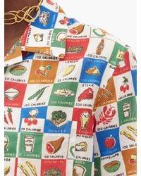 Bode Louie カロリー コットンシャツ Multicolor