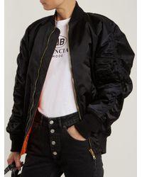 Balenciaga Black Le Bomber