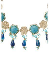 Rosantica By Michela Panero - Blue Corte Beaded Necklace - Lyst