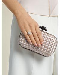 Jacquie Aiche - Metallic Diamond, Moonstone & Yellow-gold Ring - Lyst