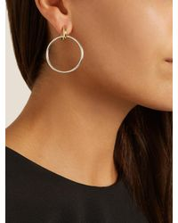 Spinelli Kilcollin - Metallic Casseus Silver & Yellow-gold Earrings - Lyst