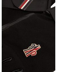 Gants de ski techniques en cuir et sergé 3 MONCLER GRENOBLE pour homme en coloris Black