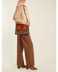 Chloé - Multicolor Faye Medium Suede And Leather Shoulder Bag - Lyst