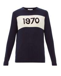 Bella Freud 1970 カシミア セーター Blue