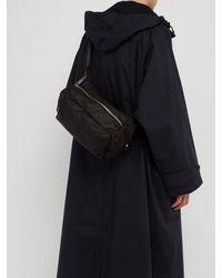Jil Sander Black Climb Belt Bag for men