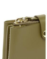 Porte-cartes en cuir Corsa Wandler en coloris Green
