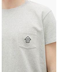 メンズ Schnayderman's コットンtシャツ Multicolor