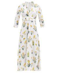 Goat ローレル フローラルクレープドレス Multicolor