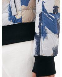 メンズ Canada Goose カブリ カモフラージュ フーデッドダウンジャケット Blue
